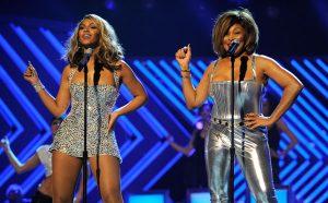 Tina Turner y Beyonce